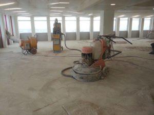 poncage sol beton paris